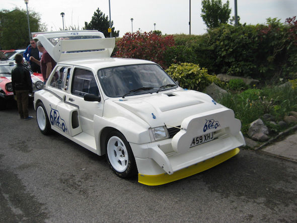 Colin McRae's Metro on eBay for £350,000